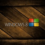Windows 8 wooden wallpaper
