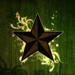 Grunge star wallpaper
