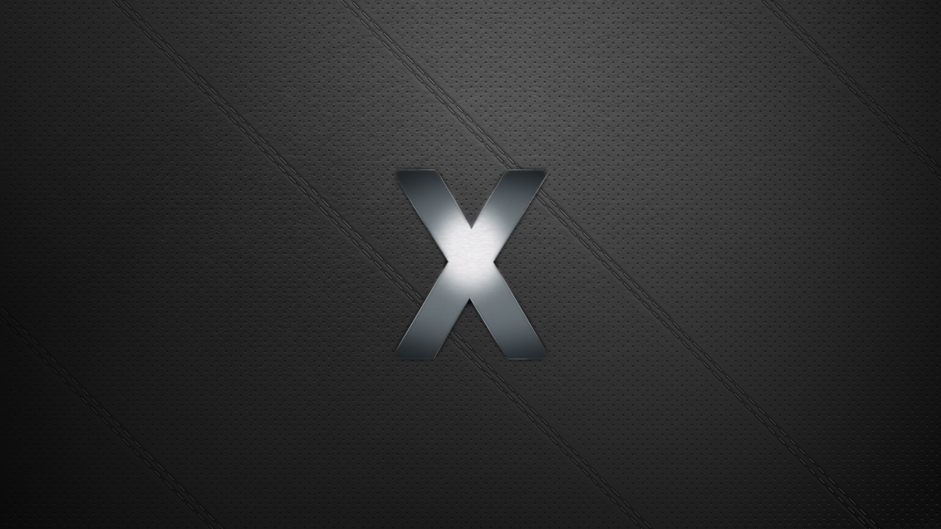 Leather OS X Wallpaper