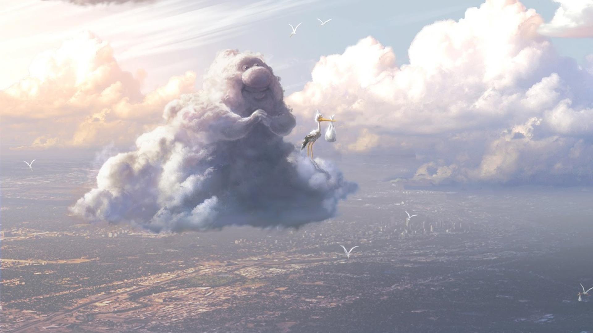 Pixar Cloud Wallpaper