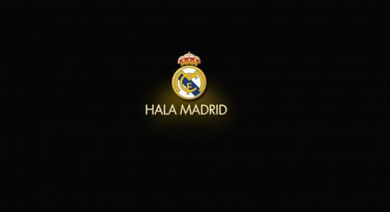 Real Madrid black Wallpaper