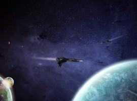 Spacecraft wallpaper