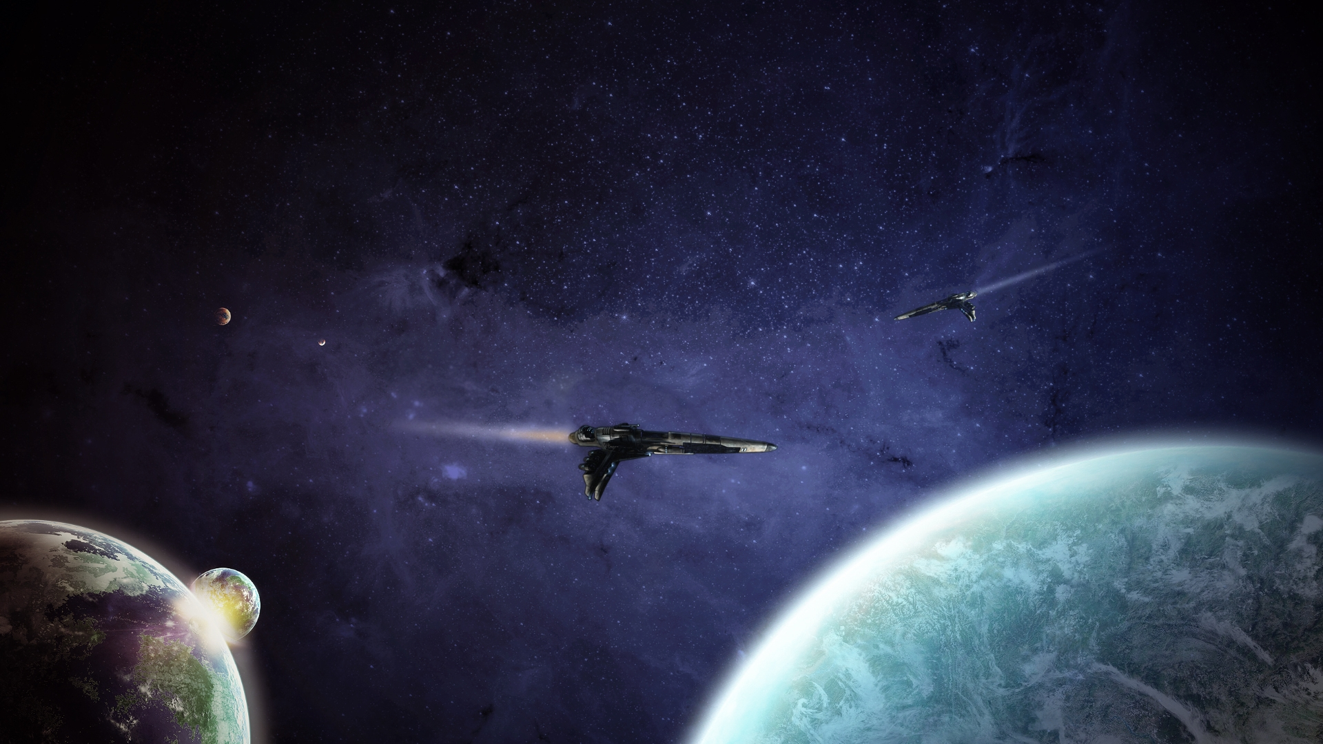 Spacecraft wallpaper