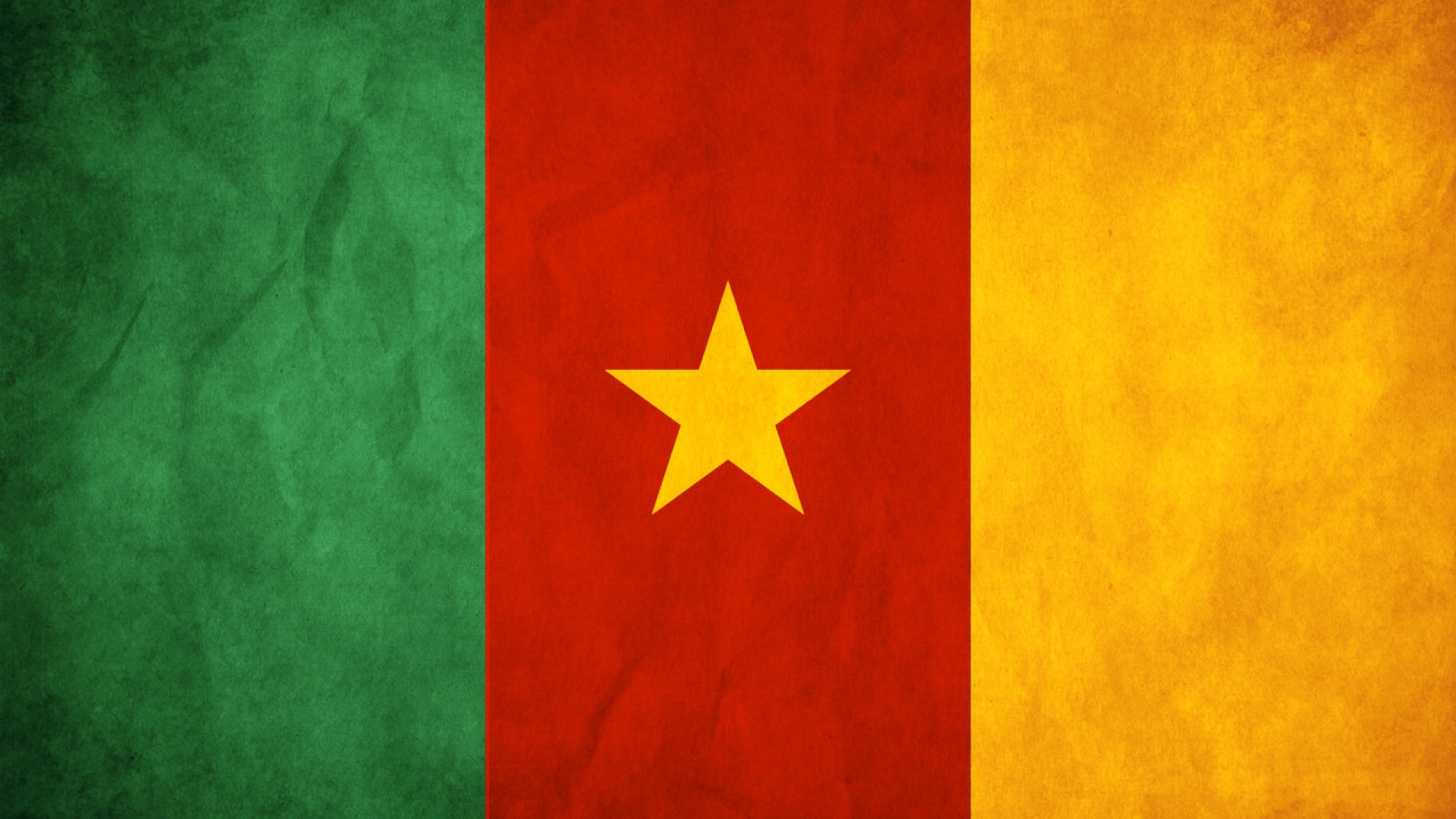 Cameroon flag wallpaper