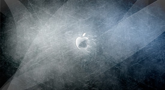 Scratched OS X Wallpaper