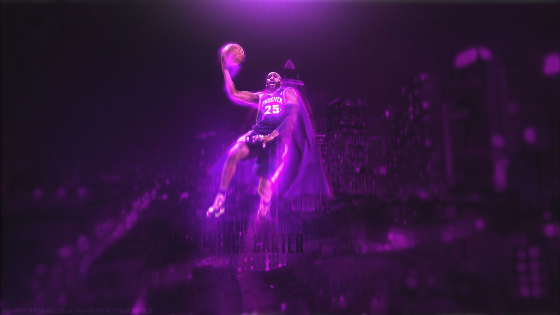 Vince Carter Suns wallpaper
