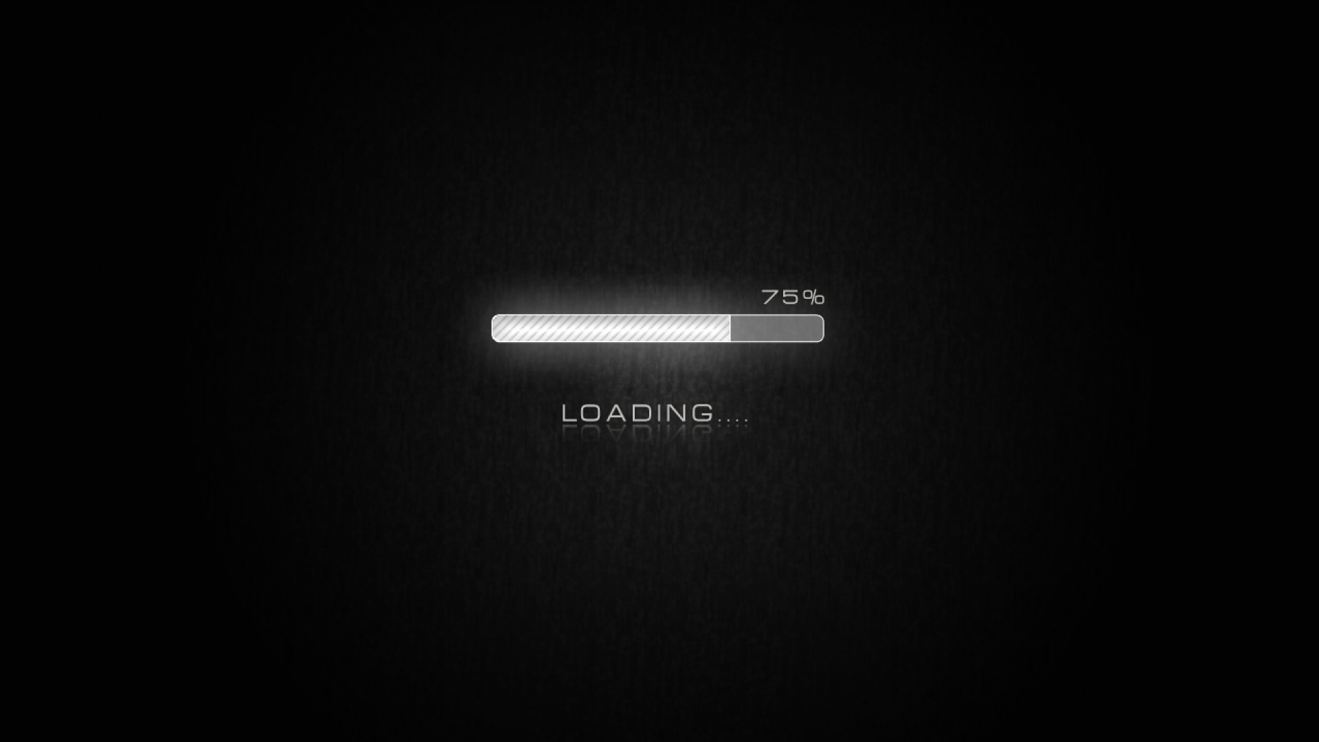 Loading Bar Wallpaper