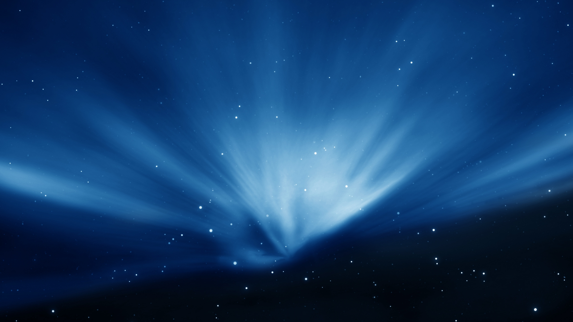Mac OS X Space Wallpaper