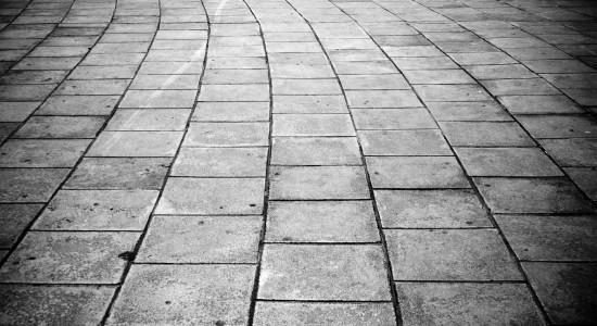 Stone pavement wallpaper
