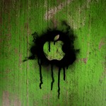 Apple Spray Paint wallpaper