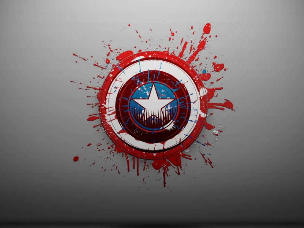 Captain America Logo wallpaper - HD Wallpapers | 1024 x 768 jpeg 102kB