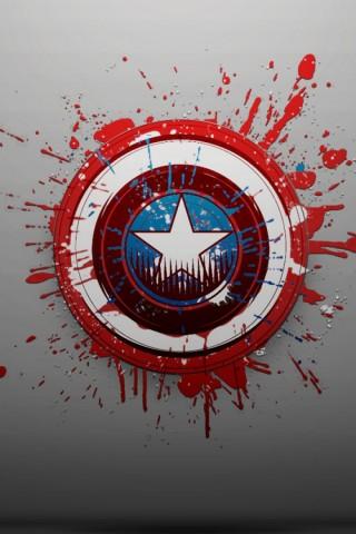 Captain America Logo wallpaper - HD Wallpapers
