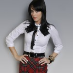 Katy Perry schoolgirl outfit