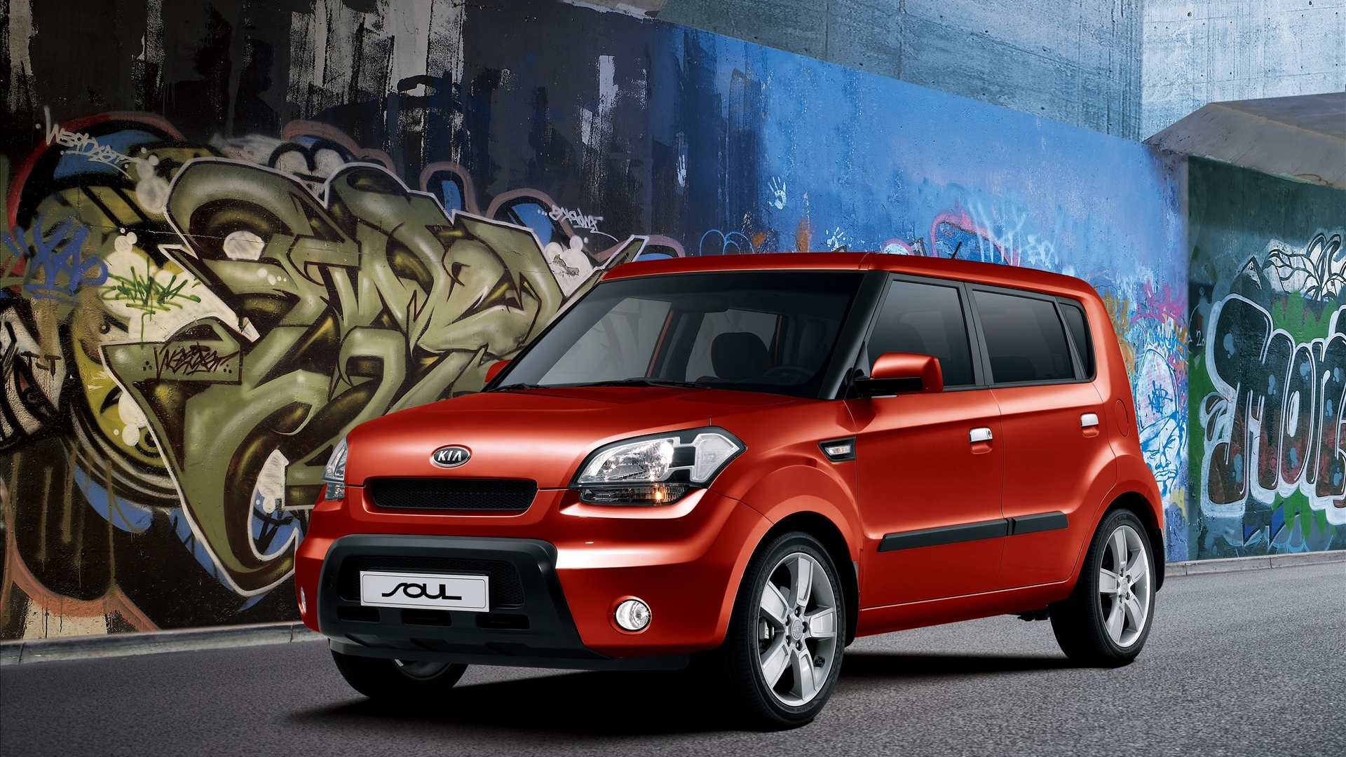 Small Kia car wallpaper
