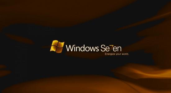 Windows 7 Wallpaper Energize