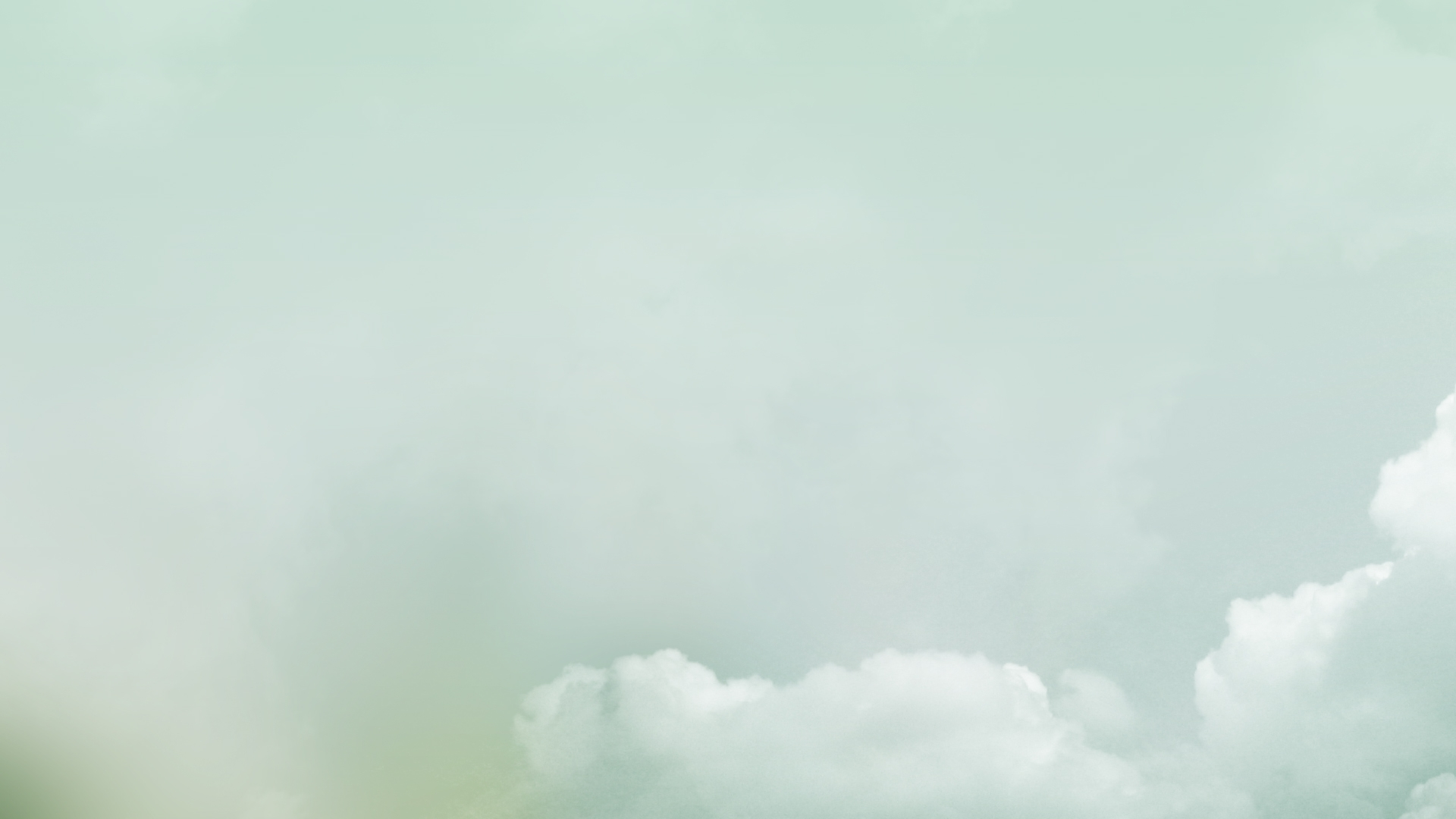 minimal clouds wallpaper