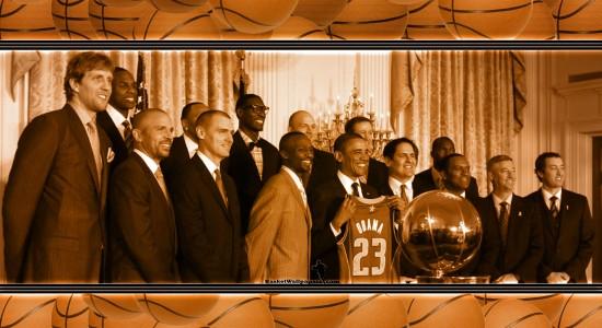Obama basketball wallpaper