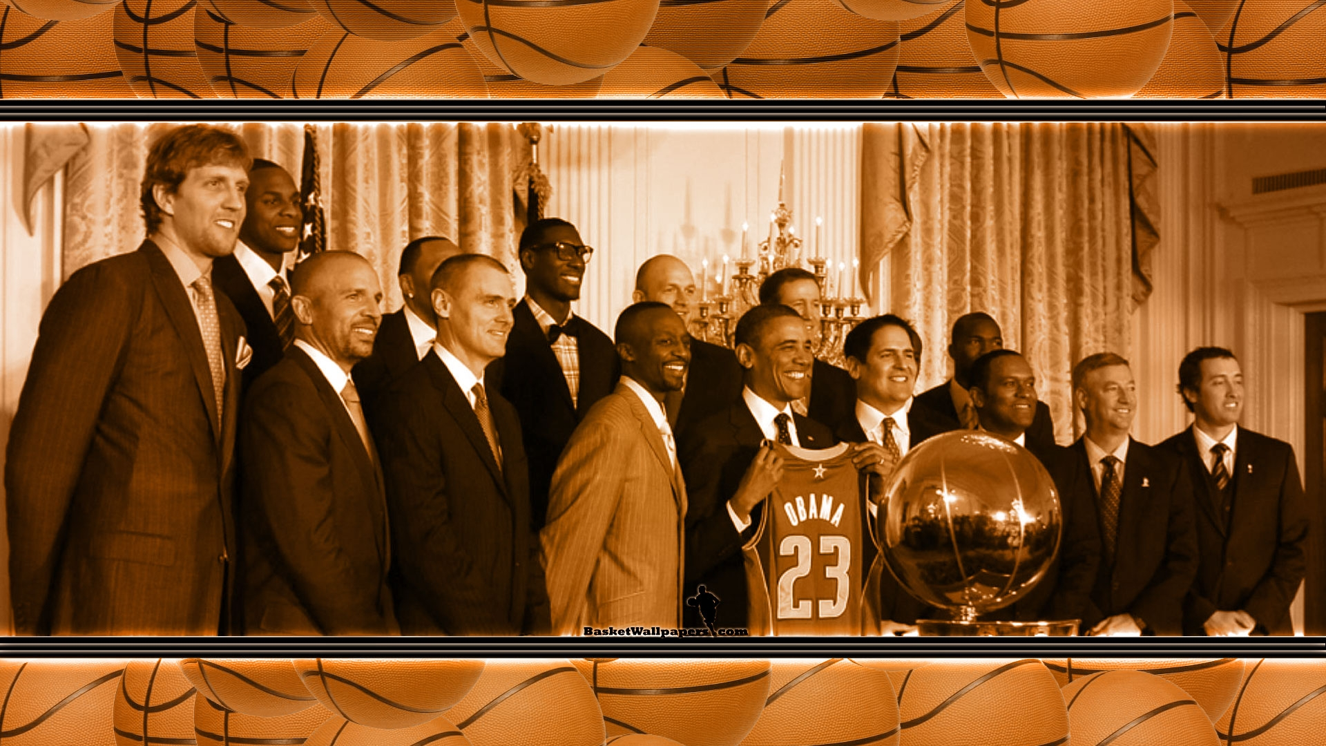 Obama basketball wallpaper