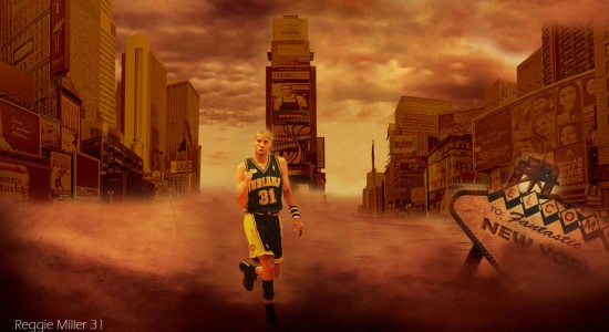 Reggie Miller Pacers NBA Wallpaper