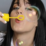 Katy Perry bubbles