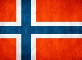 Norway flag wallpaper