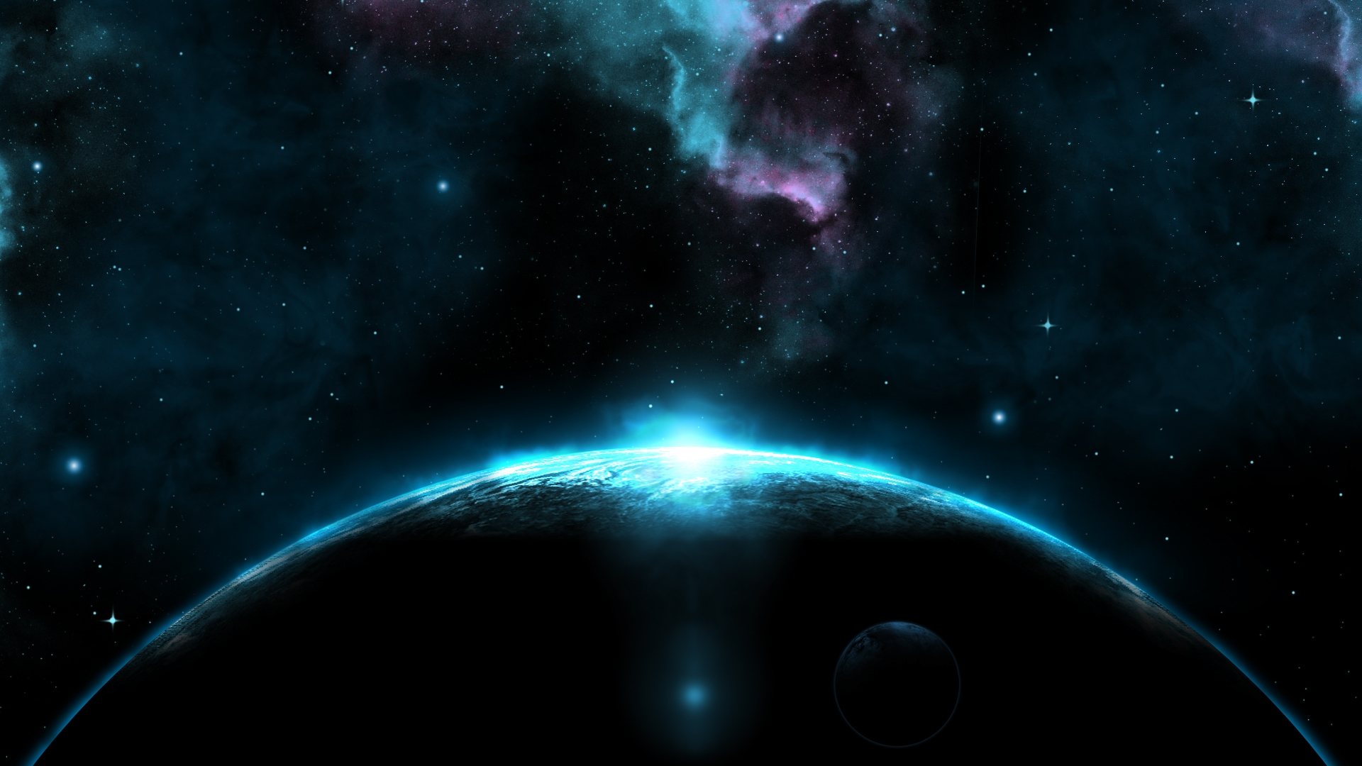 Cosmic OSX Wallpaper