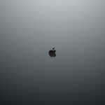 Just the Apple logo