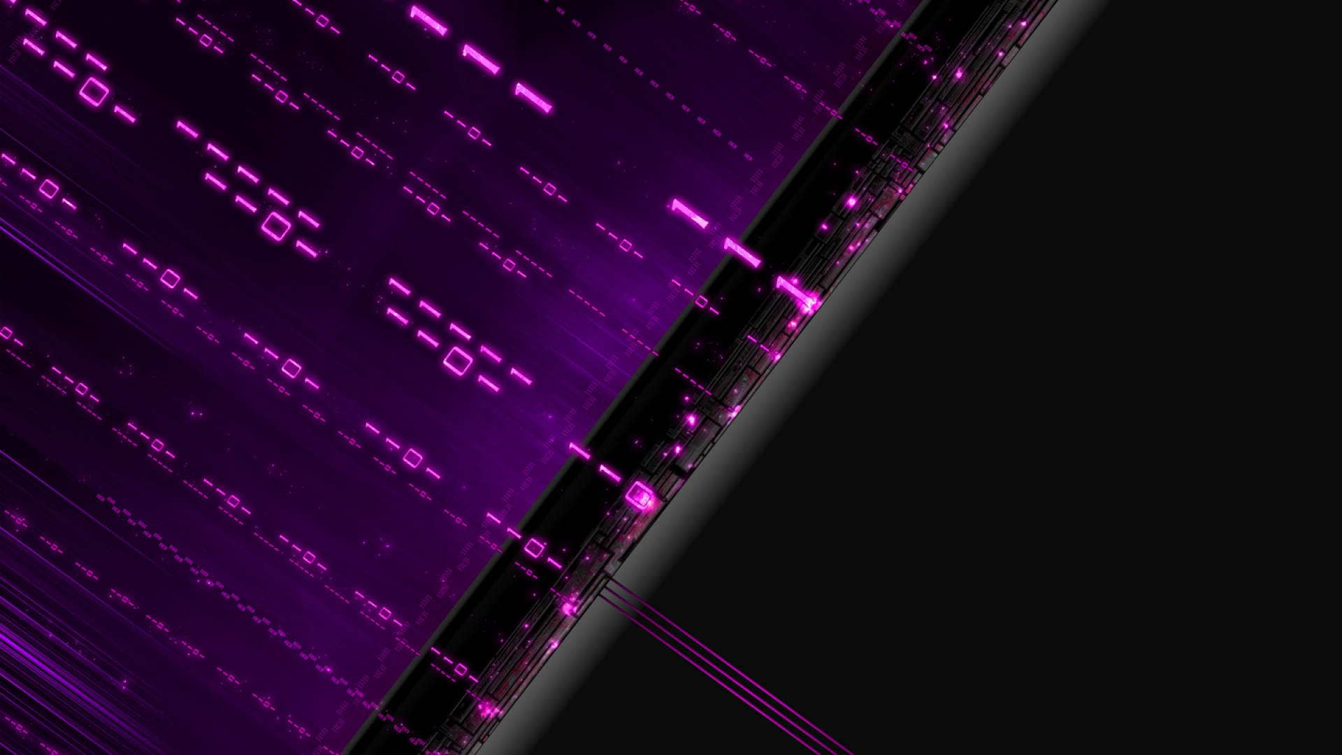 Binary wallpaper