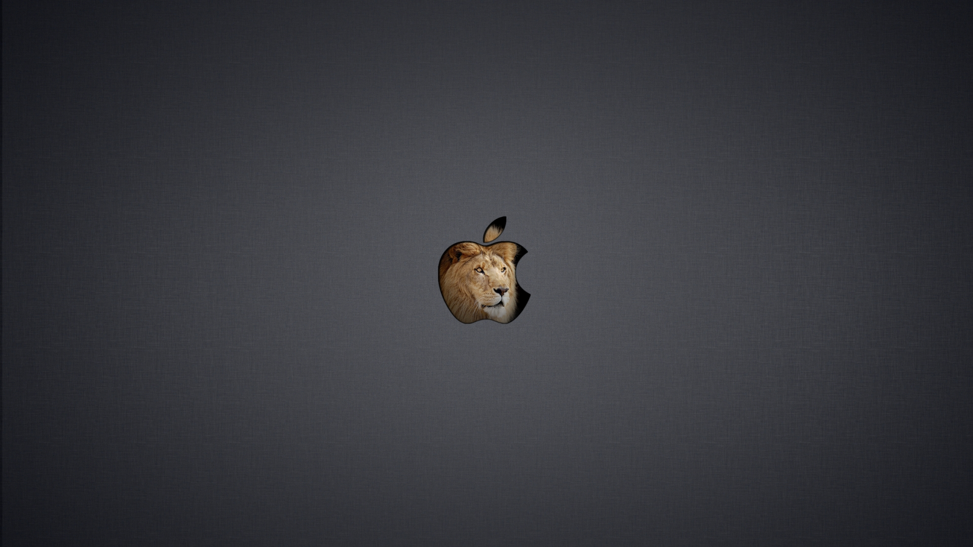 Dark OS X Lion Wallpaper