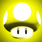 Yellow Mushroom Wallpaper