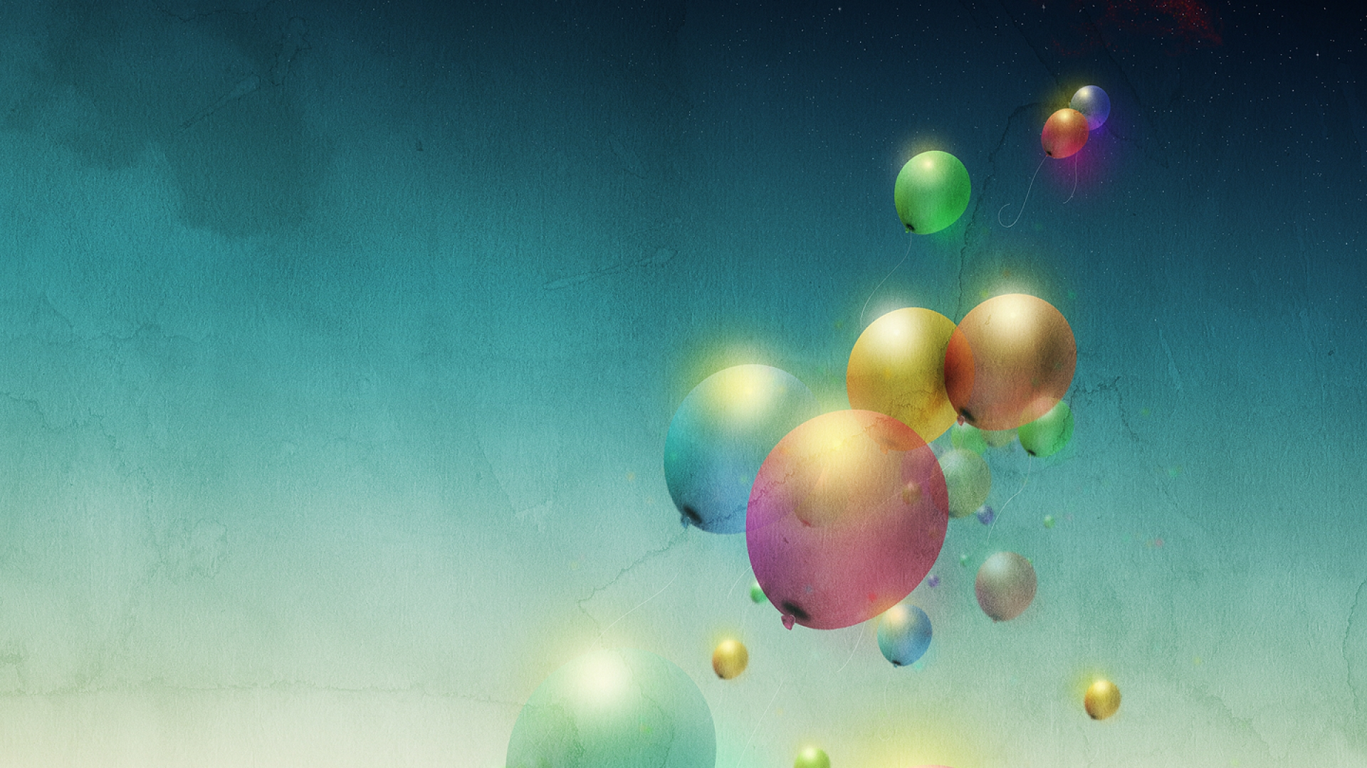 Balloon wallpaper