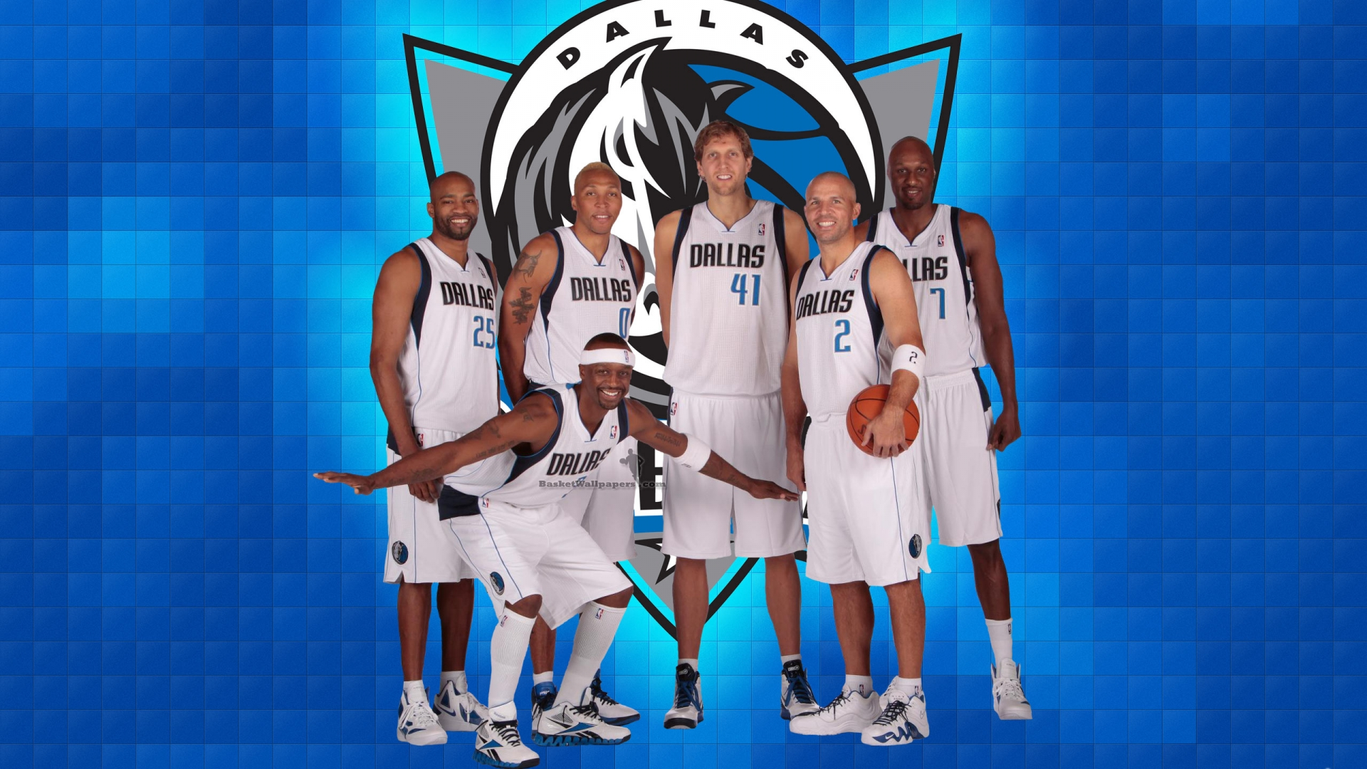Dallas Mavericks 2012 Team Wallpaper