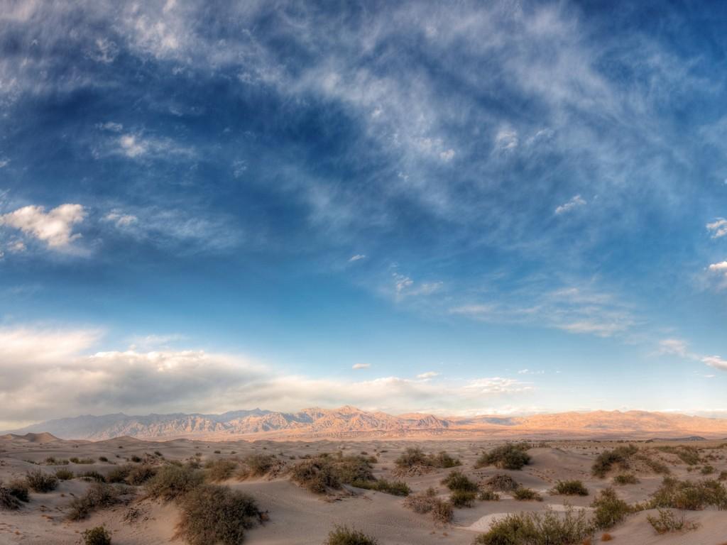 Sky Wallpapers: Blue Sky Landscape Wallpaper