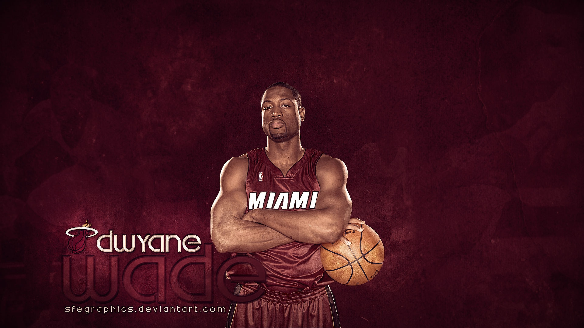 Dwayne Wade NBA Wallpaper