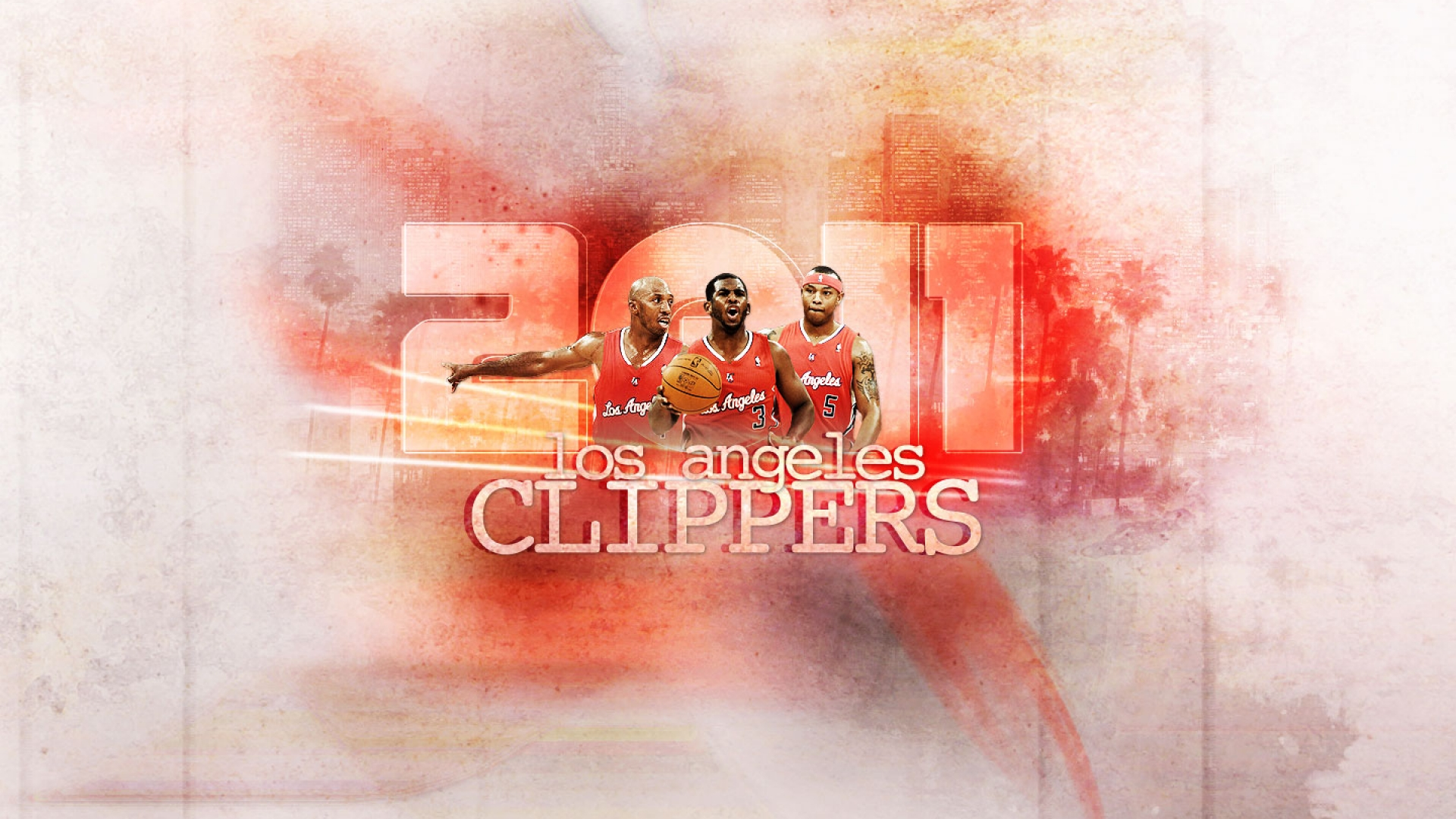 LA Clippers 2012 Wallpaper