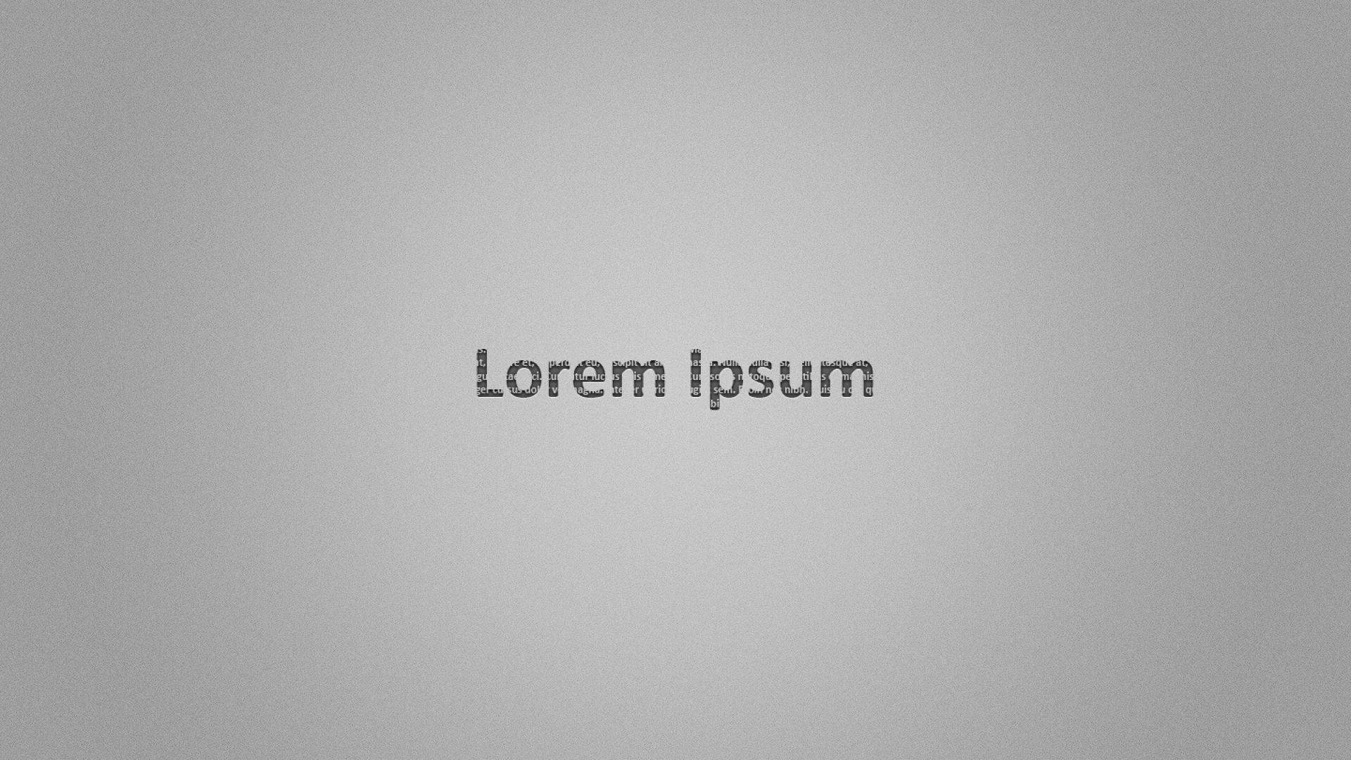 Lorem Ipsum Wallpaper
