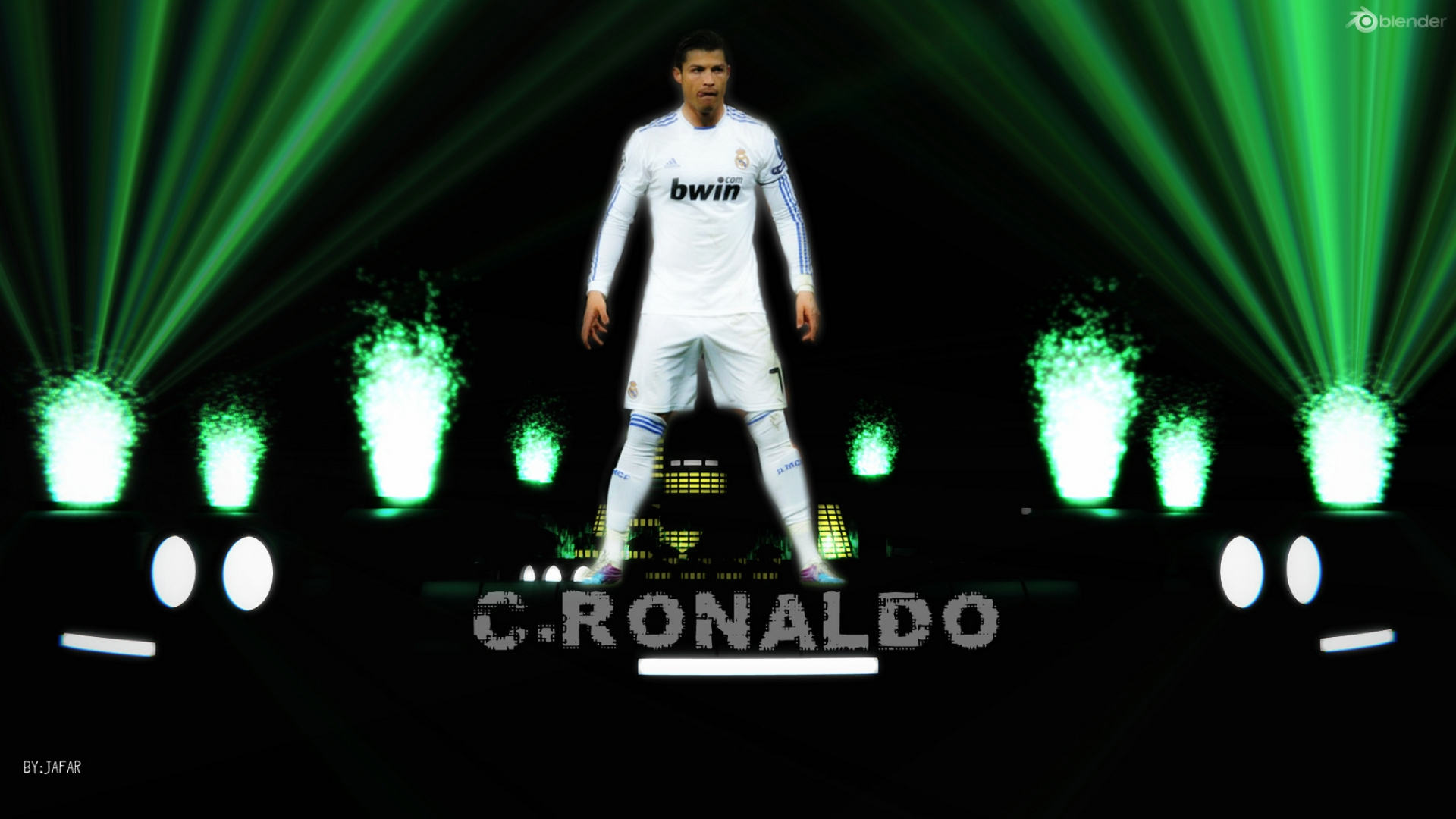 Real Madrid Ronaldo Wallpaper