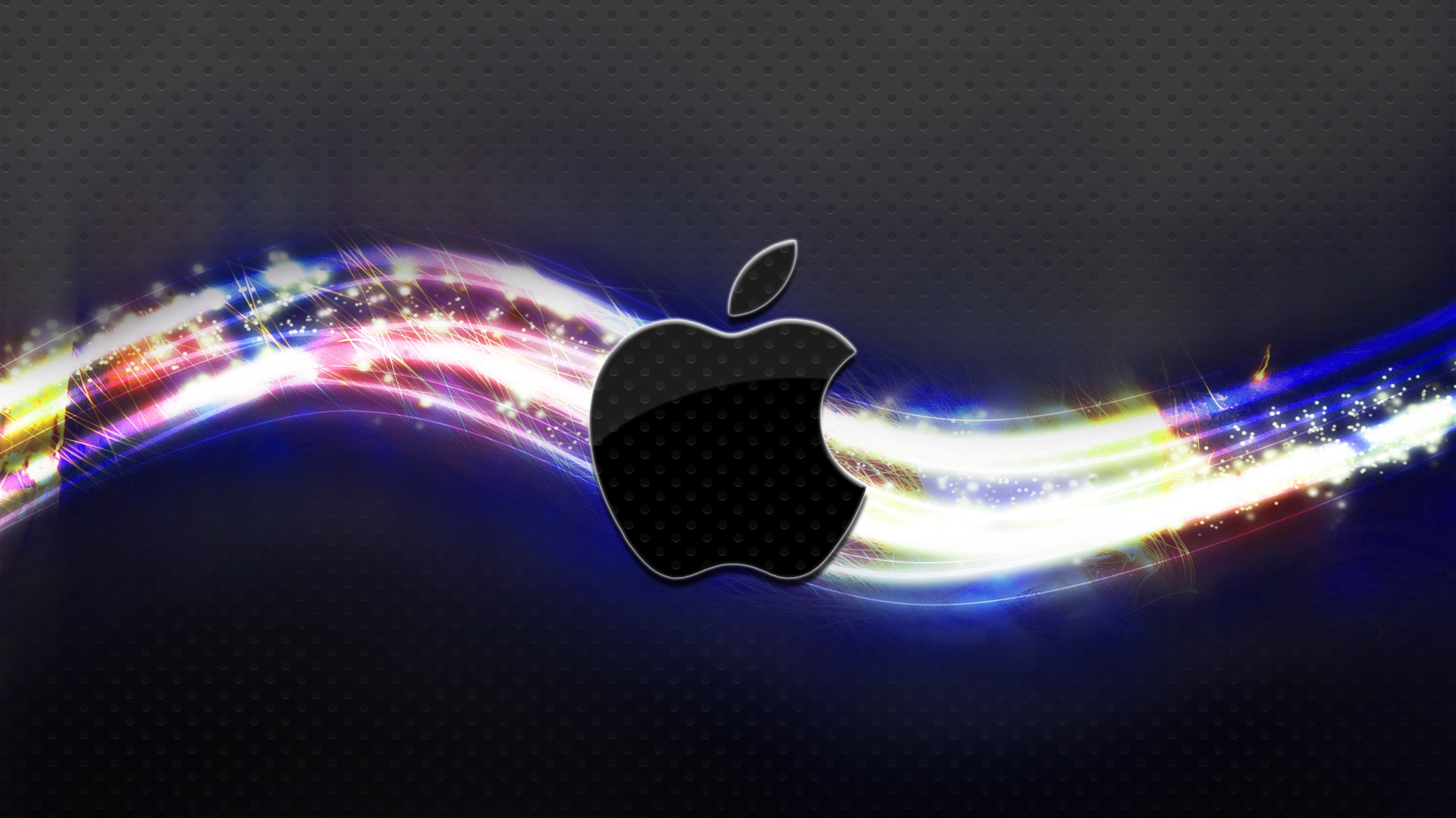 Colorful Apple OS X wallpaper