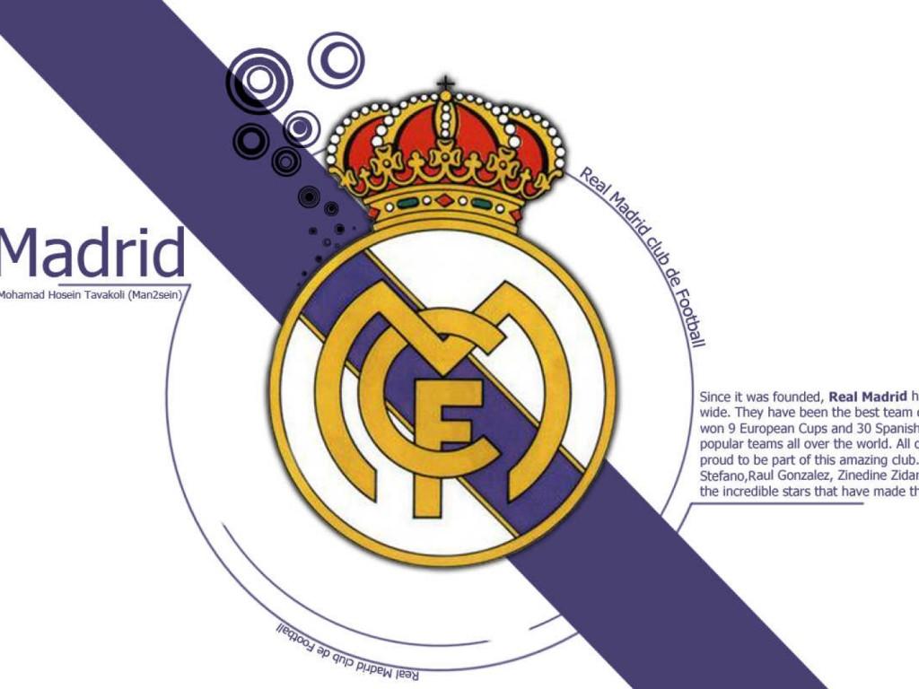 Real Madrid Diagonal Wallpaper Hd Wallpapers