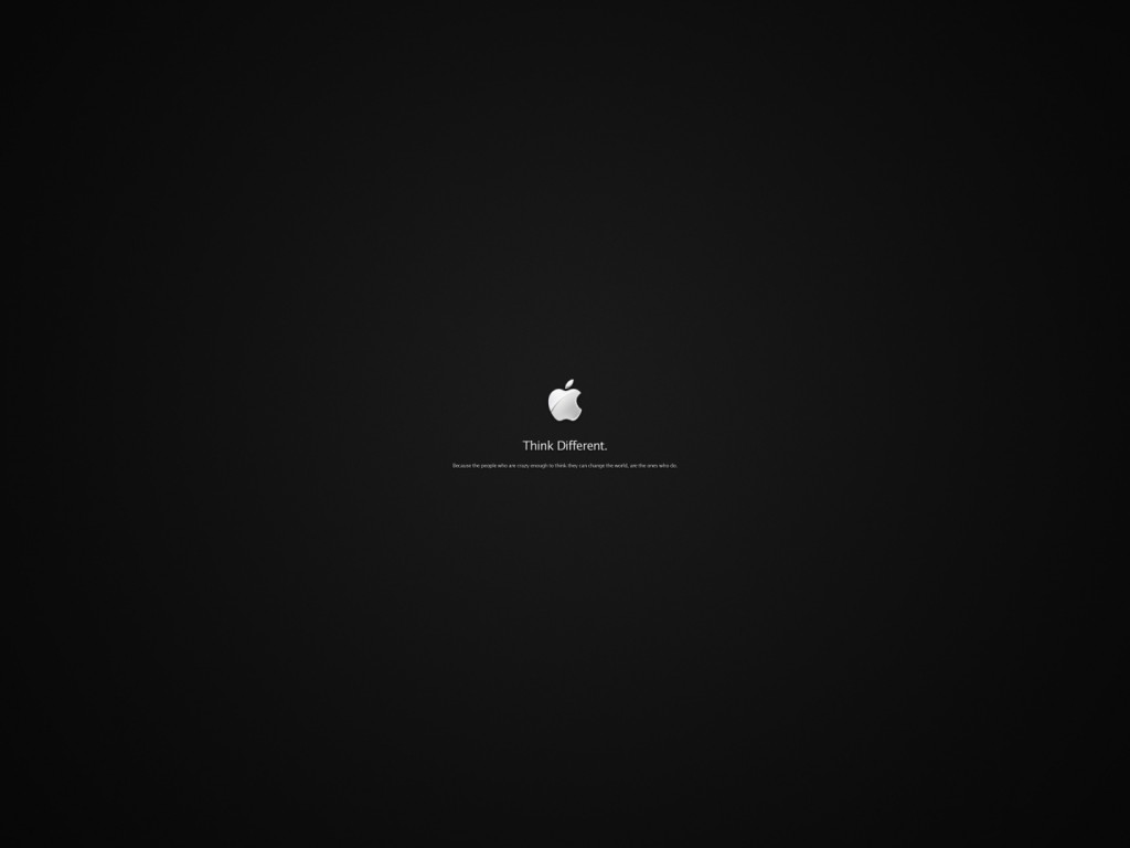 Hd Wallpapers Of Ipad A: Tiny Apple Logo Wallpaper