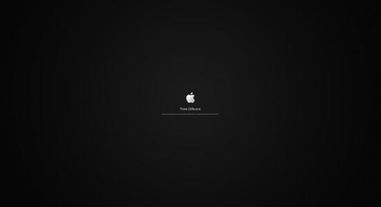 Tiny Apple Logo Wallpaper