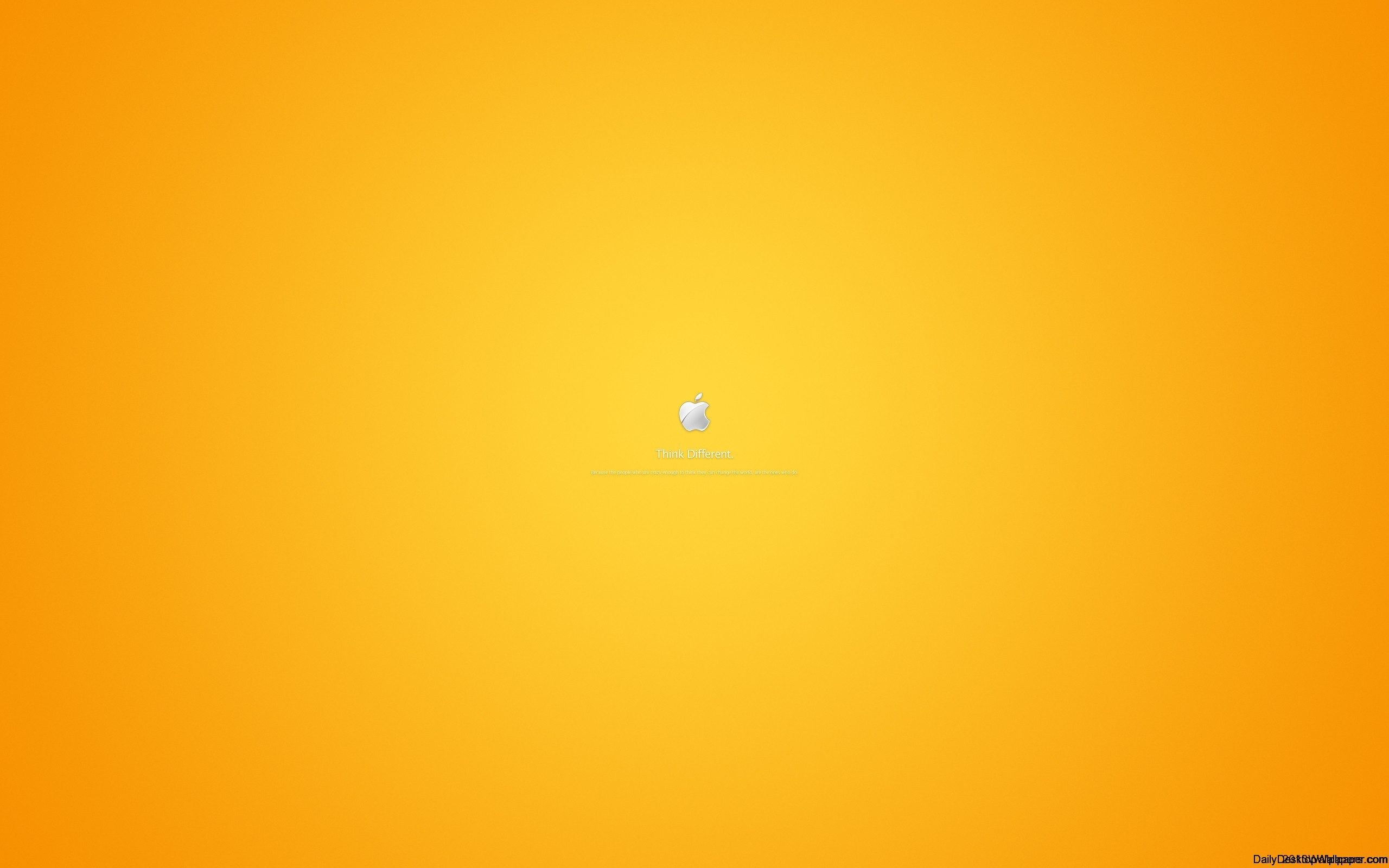 Orange Apple Wallpaper