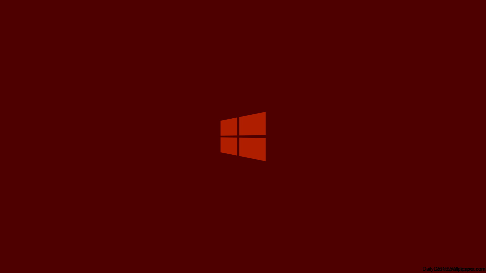 Orange Windows 8 Logo Wallpaper