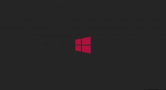 Purple Windows 8 Logo Wallpaper