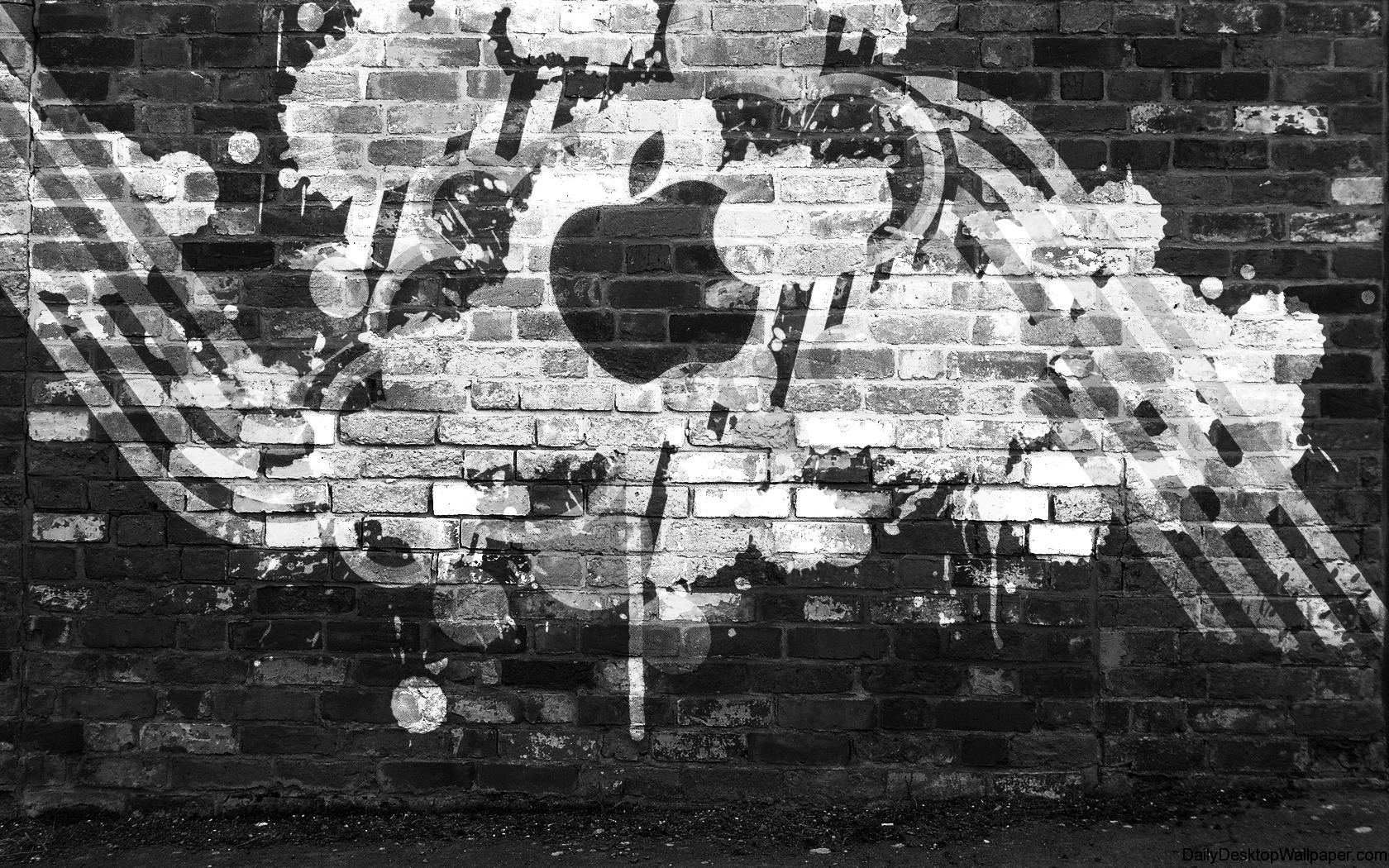 Graffiti Apple Hd Wallpapers