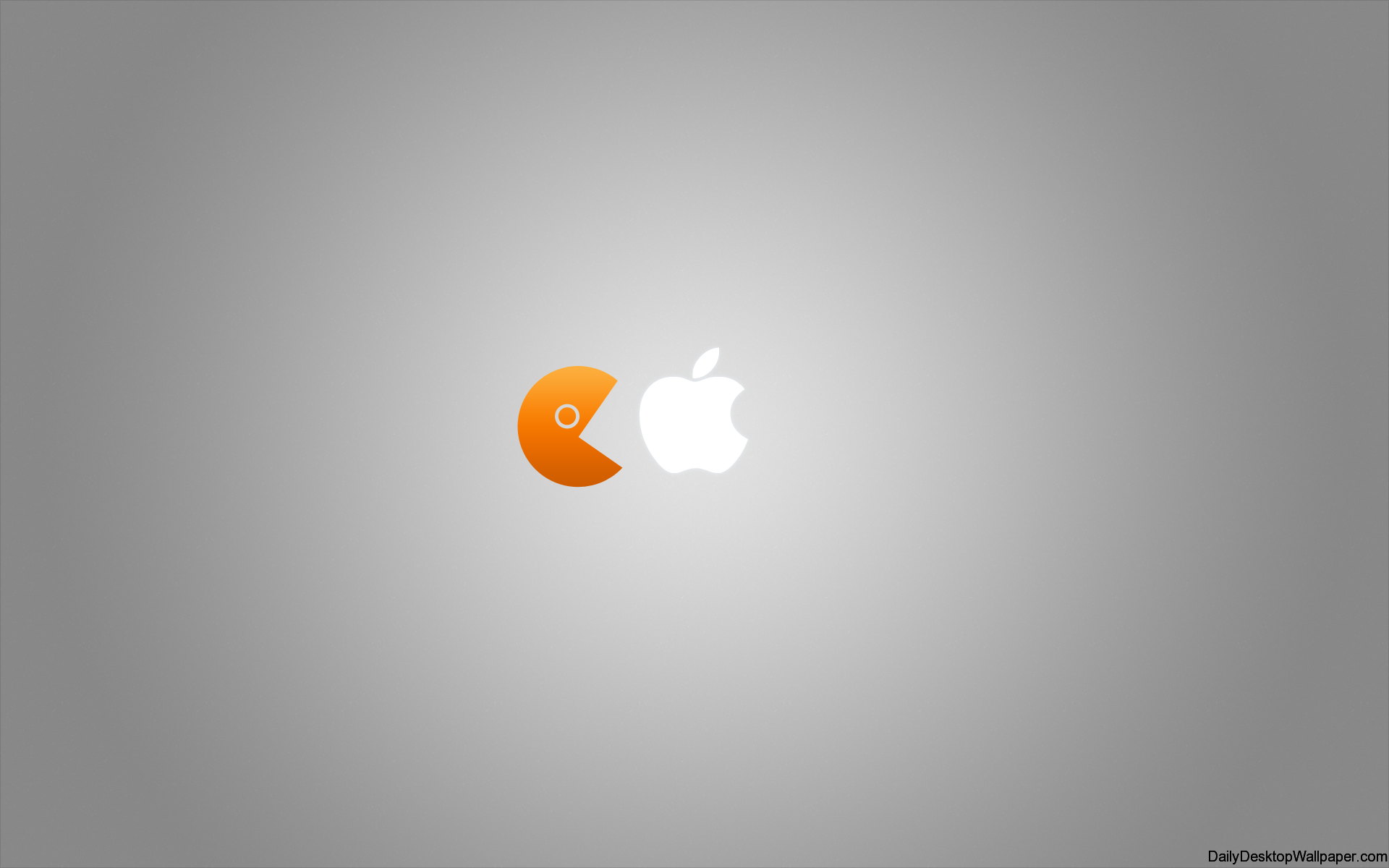 pacman apple - hd wallpapers
