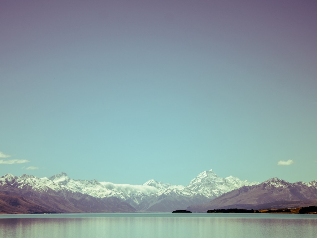 View Across A Winter Lake Wallpaper Hd Wallpapers