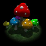 Cartoon Toadstools