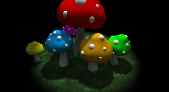 Cartoon Toadtstools
