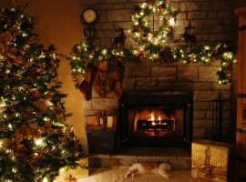 Christmas at Home Wallpaper
